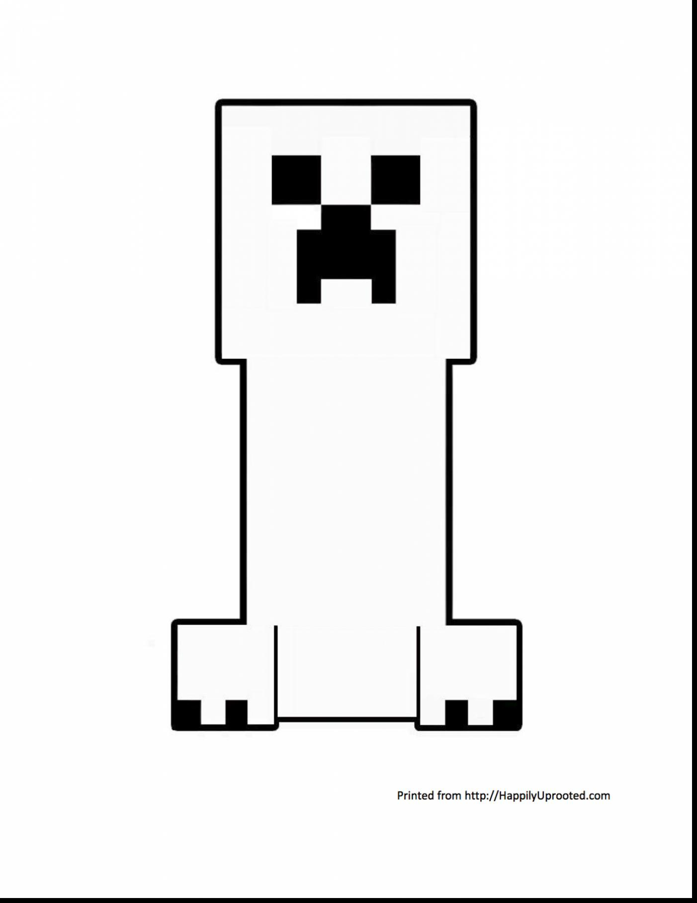 1402x1815 Minecraft Creeper Black And White Outstanding Minecraft Creeper