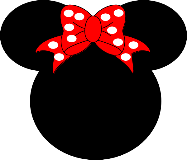 600x514 Minnie Mouse Silhouette Item Clipart Panda