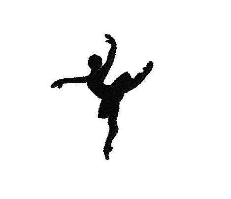 469x404 Mini Ballet Silhouette