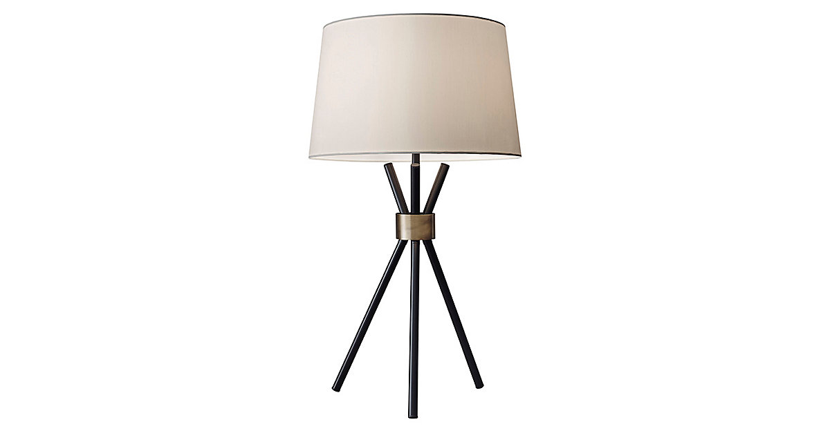 1200x627 A Minimalist Silhouette Defines This Tripod Table Lamp, Whose