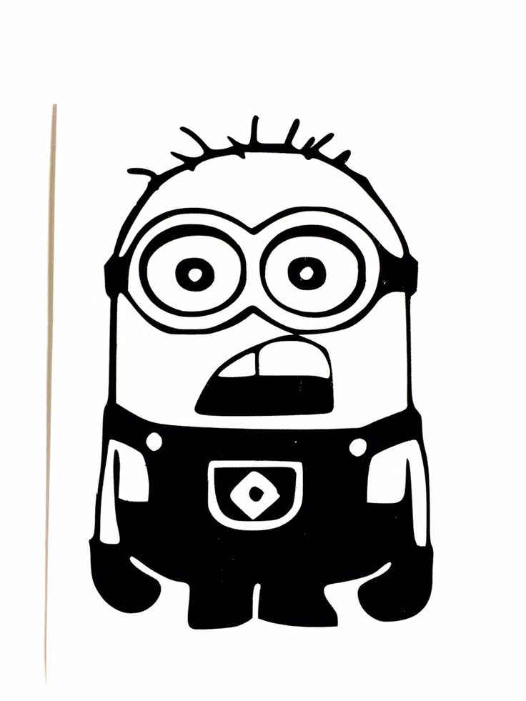 736x981 14 Best Minion Mania! Images On Appliques, Silhouettes