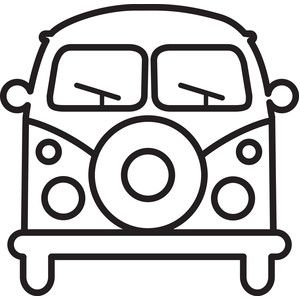 300x300 Island Van Silhouette Design, Silhouettes And Store