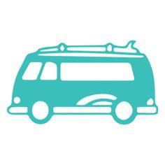 236x236 Vw Volkswagen Bus Van Cuttable Design Cut File. Vector, Clipart
