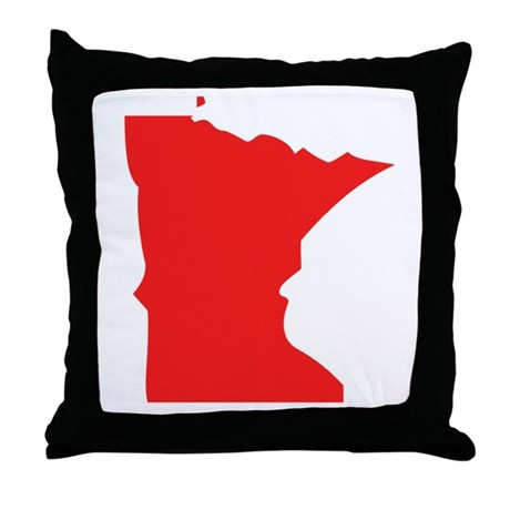 460x460 Minnesota State Outline Cushions