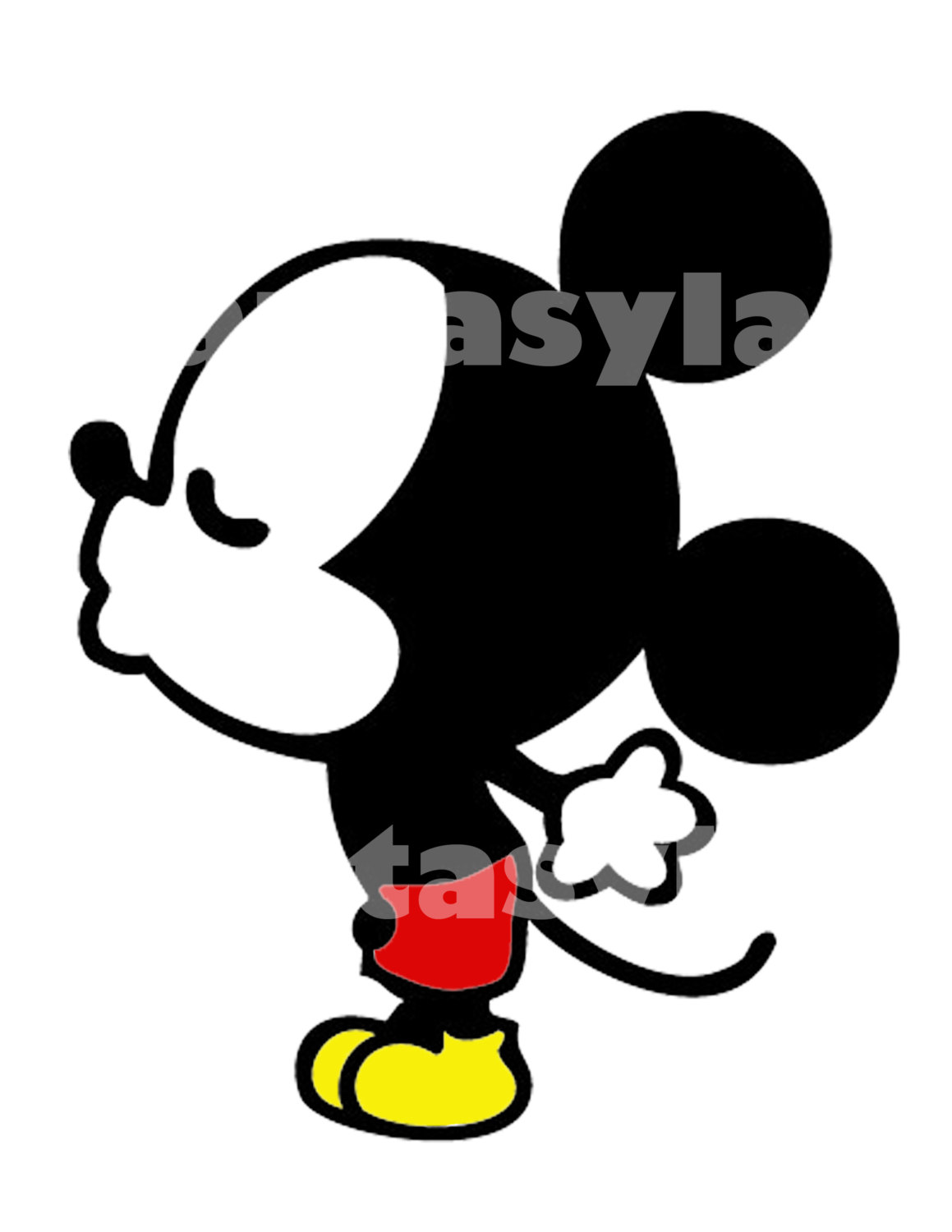 1159x1500 Mickey Mouse And Minnie Mouse Kissing Coloring In Sweet Mickey