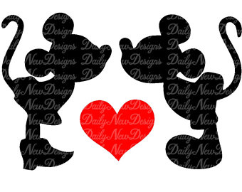 340x270 Mickey Minnie Kiss Etsy