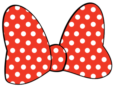 381x288 Minnie Mouse Bow Nechty )