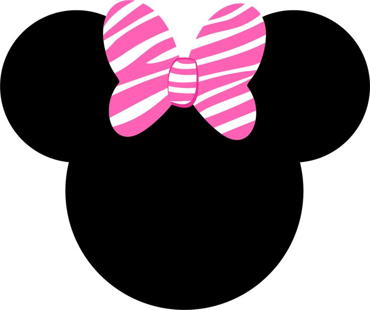 736x616 Minnie Mouse Logo Clip Art