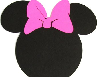 340x270 5 Minnie Mouse Silhouette With Bow From Scrapbooksolutions