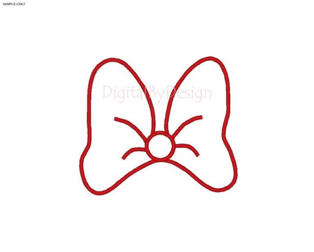 640x513 Minnie Mouse Bow Template Professional Likewise Dziuk