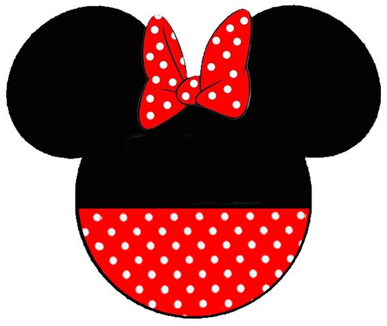 Minnie Mouse Face Silhouette