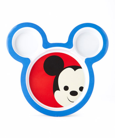 378x454 Love this Mickey Mouse Big Face Silhouette Plate