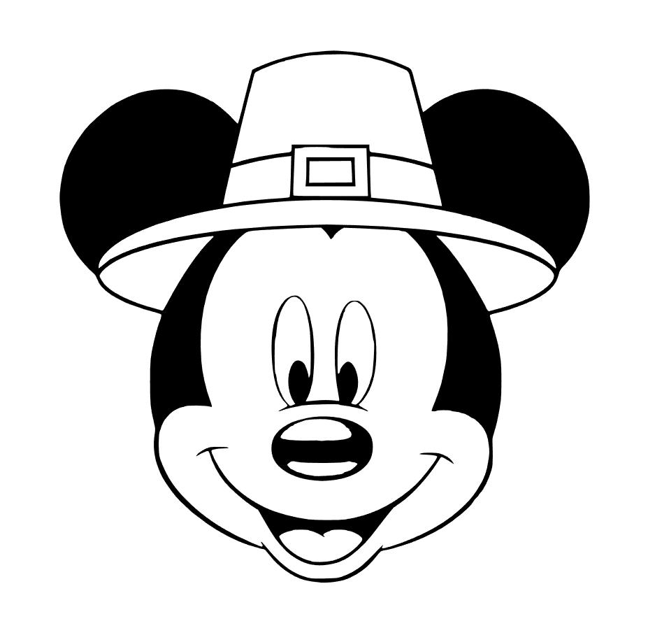 927x908 Mickey Thanksgiving Plotter Thanksgiving, Cricut