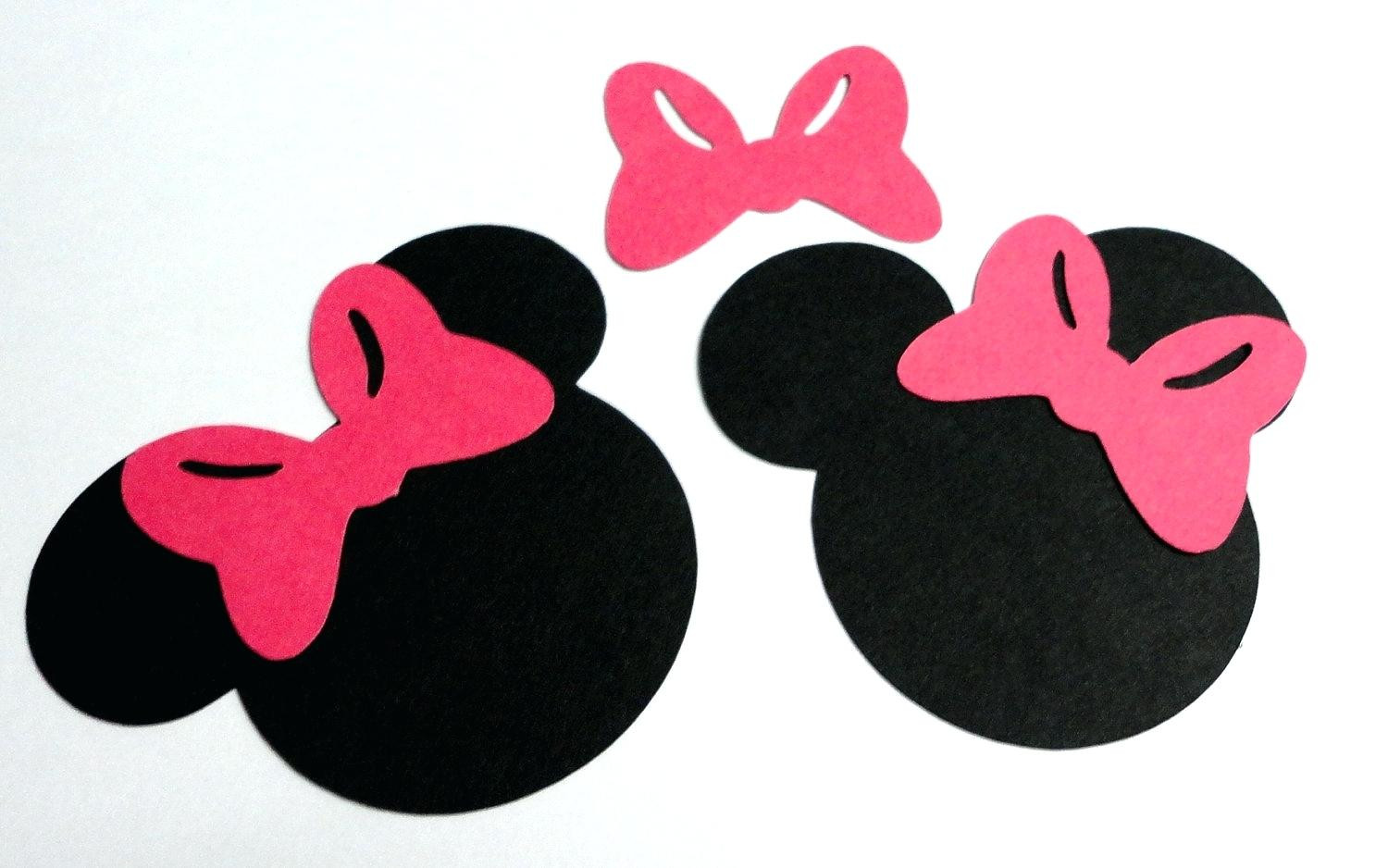 1500x938 Minnie Mouse Template Full See Rclxelxri For Mickey Head