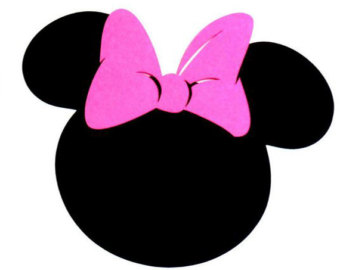 340x270 Minnie silhouette clip art