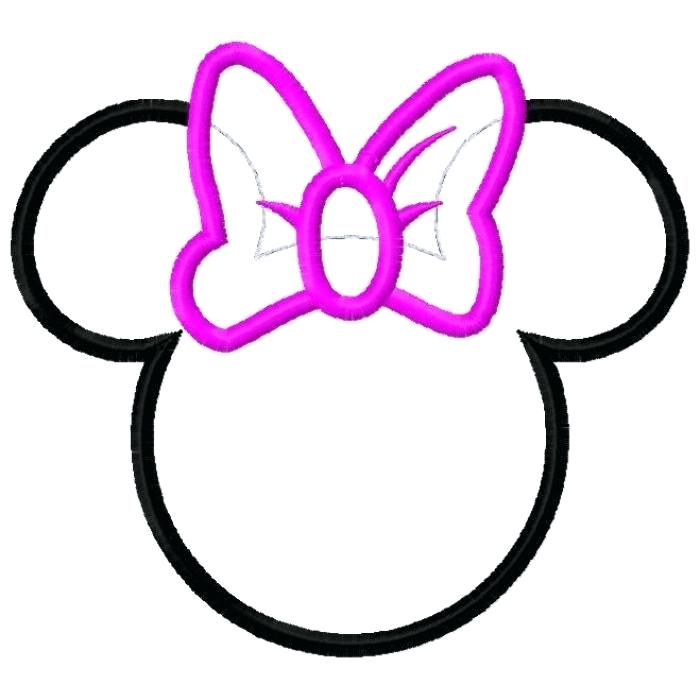 700x700 Minnie Mouse Ears Template Printable Mickey Mouse Ears Stand