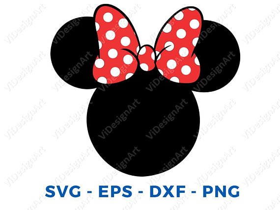 Minnie mouse head silhouette printable at getdrawings free for 570x428 minnie mouse head svg dxf png vector cut file cricut design maxwellsz