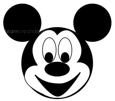 400x350 mickey mouse craft projects. printable mickey mouse craft