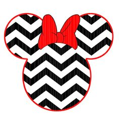 236x236 Minnie Mouse Chevron Instant Download Digital Clip Art Diy Iron