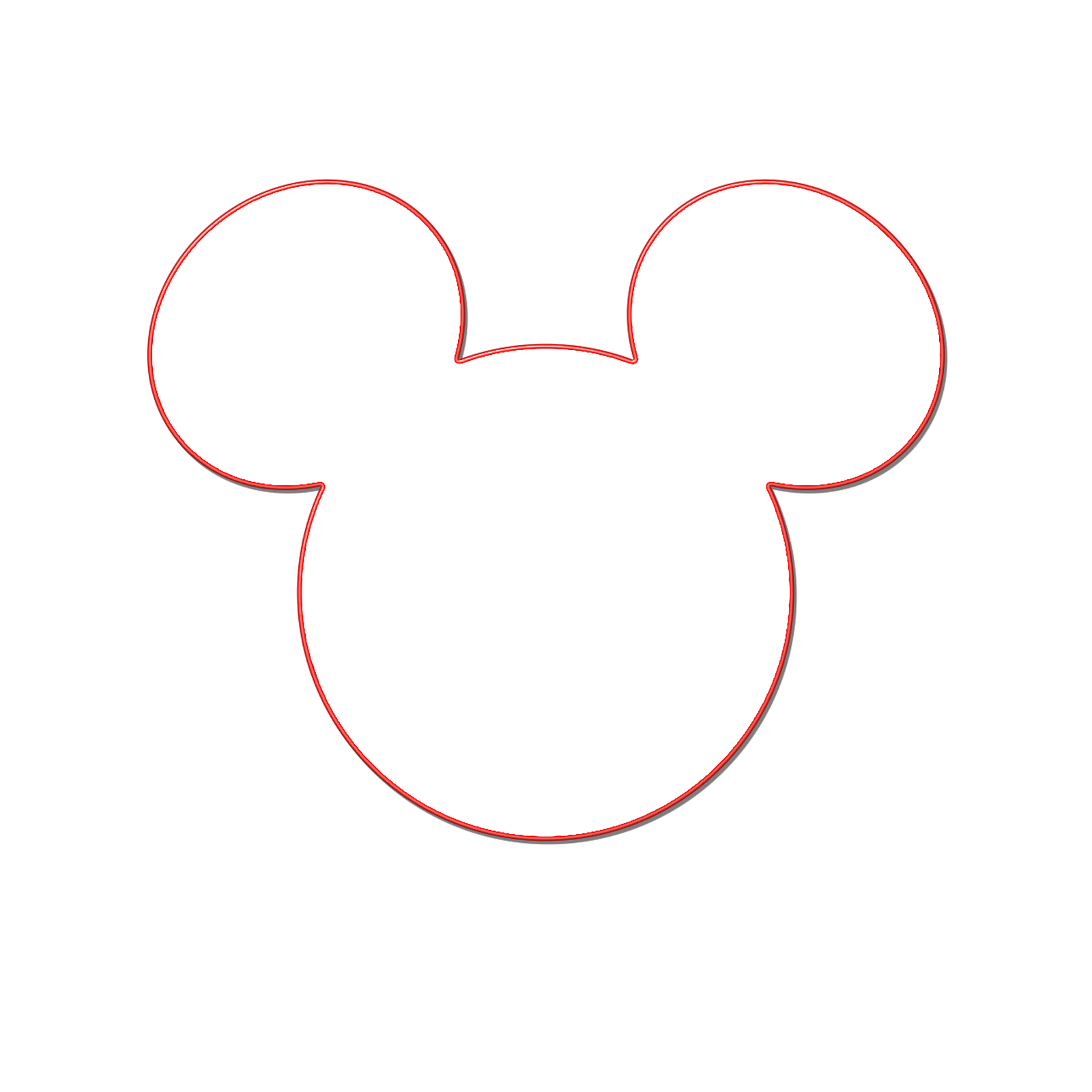 1600x1600 Minnie Mouse Silhouette Clip Art