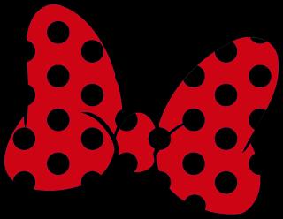 320x248 Lazo De Color Rojo Y Negro Para Imprimir Lazo Minnie Mouse Para