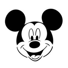 236x236 mummy mickey mouse head silhouette clip art