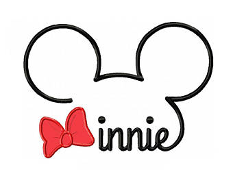 340x270 Lofty Design Ideas Minnie Mouse Outline Svg Mickey Clip Art