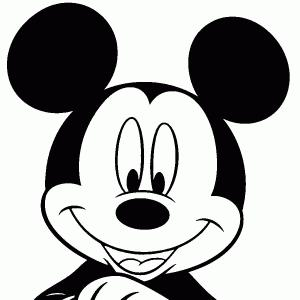 300x300 Mickey Mouse Clipart Black And White Lazttweet