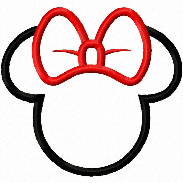 736x736 Mickey Mouse Ears Silhouette