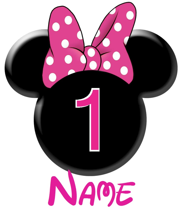 736x893 Minnie Mouse 2nd Birthday Clipart