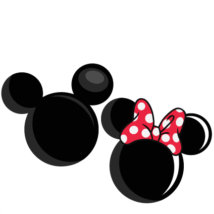 432x432 Minnie Mouse Clipart Silhouette