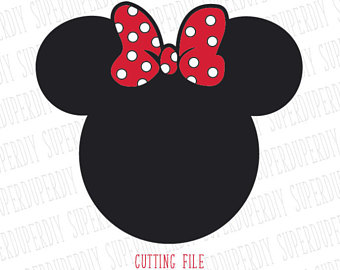 340x270 Minnie Mouse Head Etsy