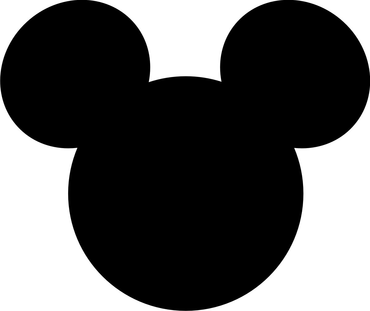 Minnie mouse silhouette printable at getdrawings free for 1199x1010 mickey mouse large printable cutouts can you guess where we are maxwellsz