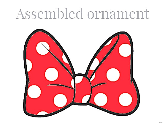 556x424 Minnie Mouse Bow Template For Trace Around The Backing Divine