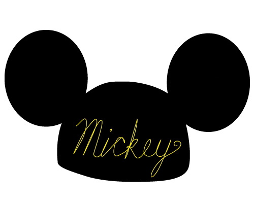 500x400 Minnie Mouse Ears Silhouette Clipart