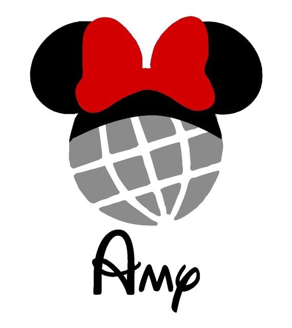 570x641 Disney Epcot Silhouette Clipart