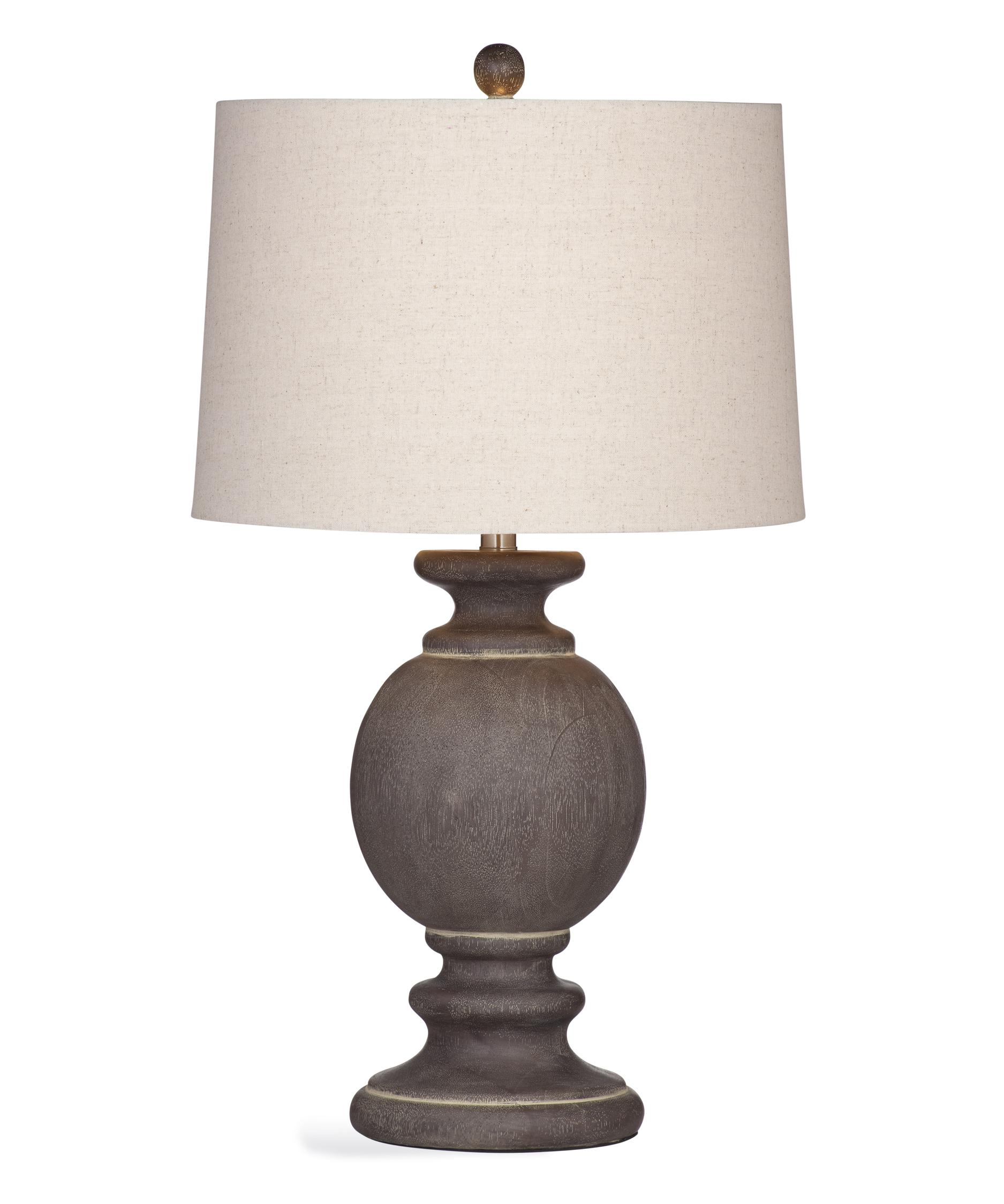 1875x2250 Bassett Mirror Company L3171tec Natalia 30 Inch High Table Lamp