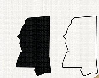 340x270 Mississippi State Svg State Of Mississippi Svg Ms Svg