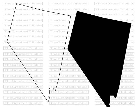 570x446 Nevada State Map Svg Png Jpg Vector Graphic Clip Art Nevada State