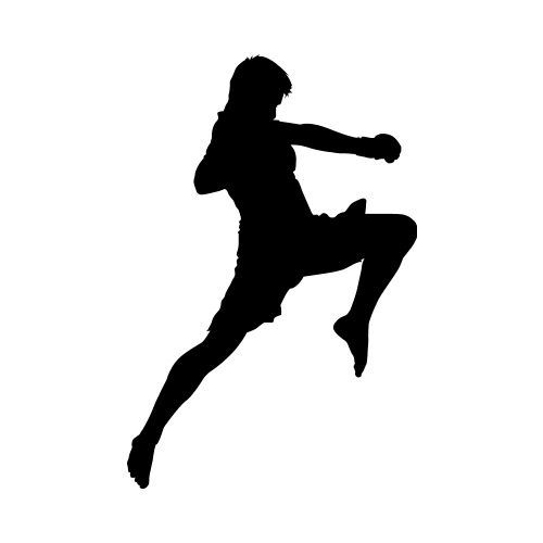 500x500 Mma Fighter 5 Clip Art