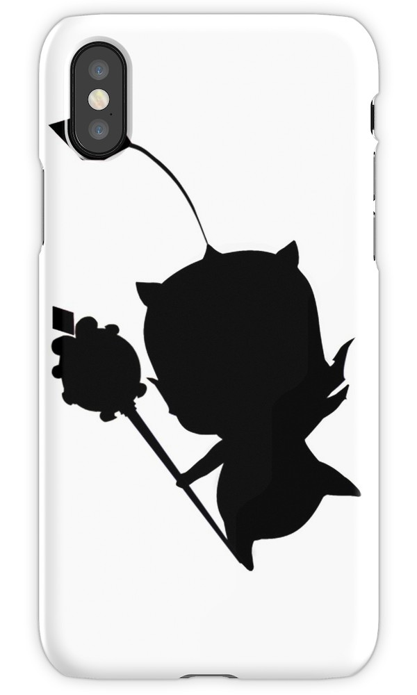 600x1000 Moogle Silhouette Iphone Cases Amp Covers By Joanna Rawnsley