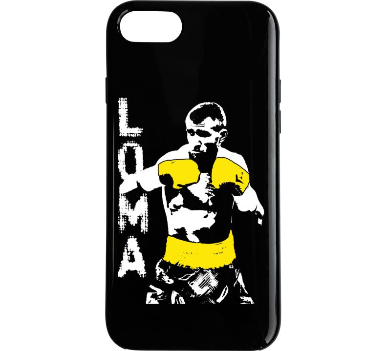 792x719 Vasyl Lomachenko Professional Boxer Silhouette 2 Phone Case