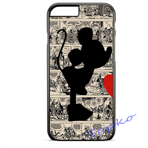 501x501 Device 1 Minnie Silhouette Case Cover For Samsung Galaxy S3 S4 S5