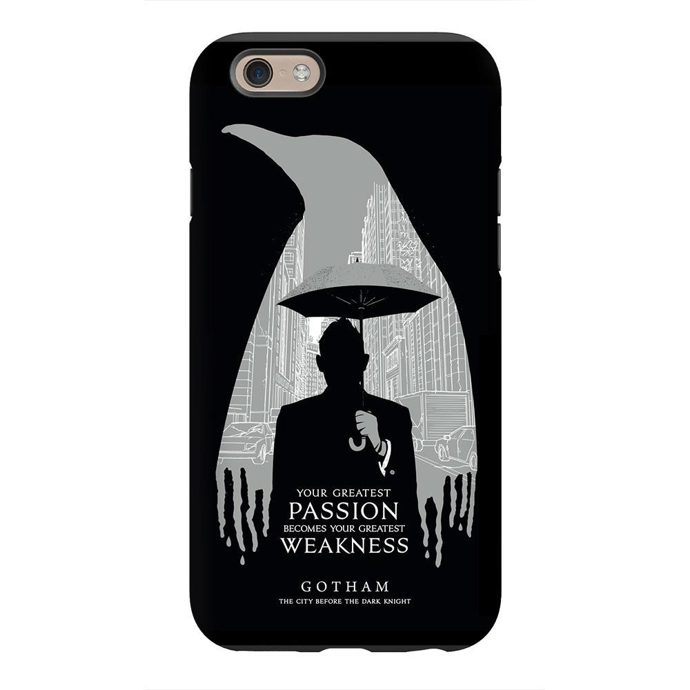 1000x1000 Gotham Cobblepot Penguin Silhouette Phone Case For Iphone