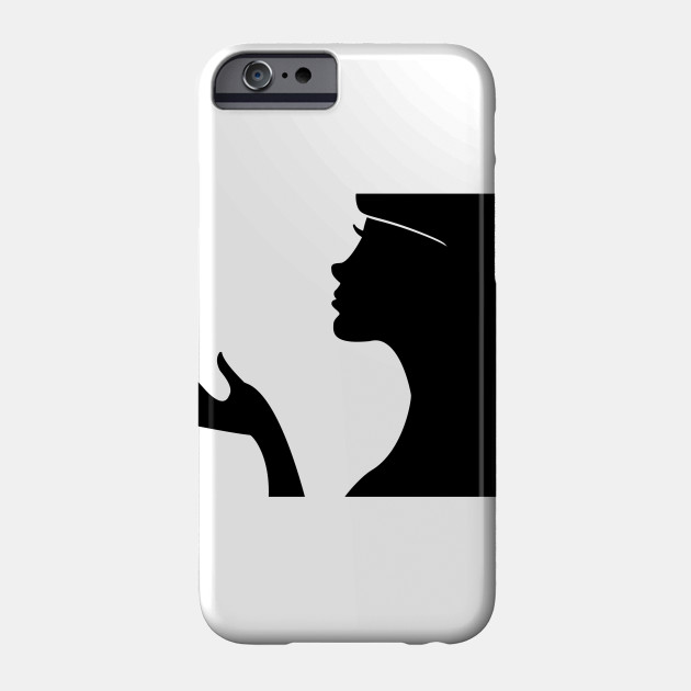 630x630 Limited Edition. Exclusive Female Profile Silhouette 2
