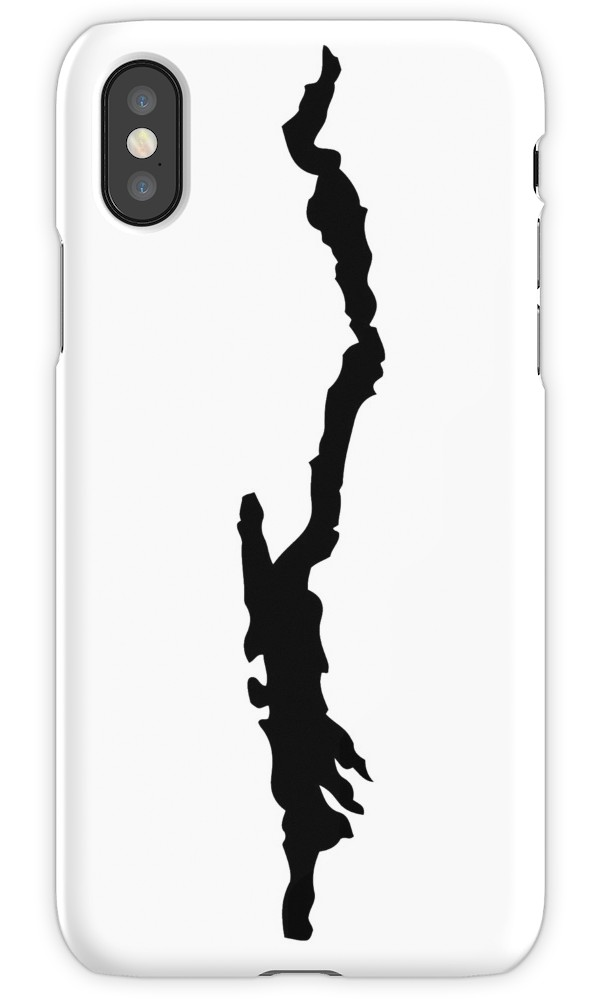 600x1000 Lake George Silhouette Iphone Cases Amp Covers By Katedill0n