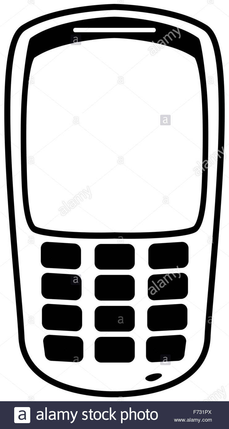 742x1390 Mobile Phone Silhouette Outline Isolated Stock Photos Amp Mobile