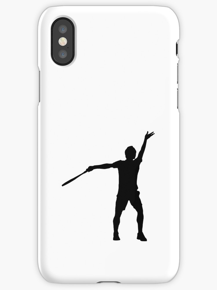750x1000 Roger Federer Serve Silhouette Iphone Cases Amp Covers By Njf108