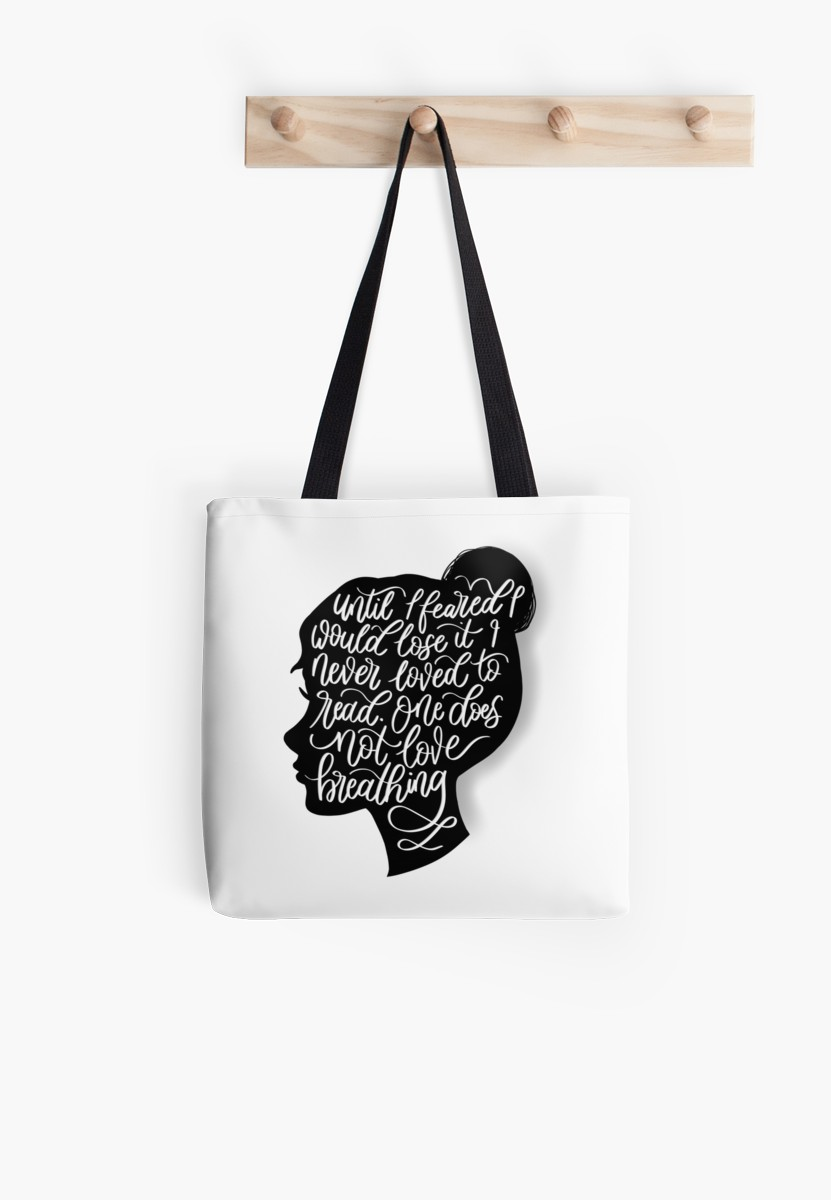 831x1200 To Kill A Mockingbird, Quote Silhouette Tote Bags By