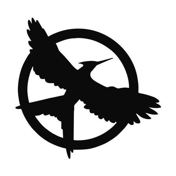 600x600 Hunger Games Mockingjay 3 Mockingjay Custom Made Vinyl Decal